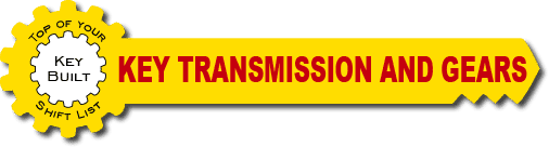 Key transmission and gears logo